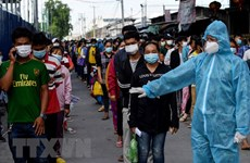Cambodia: Over 60 COVID-19 cases found among workers returning from Thailand