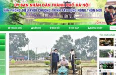 Hanoi's website on OCOP programme debuts