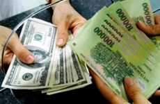 Reference exchange rate up 6 VND