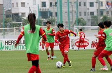 Vietnam to play three matches in 2022 AFC Women's Asian Cup qualification