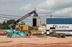Laos reports 100 million USD trade deficit in July