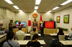 Vietnamese Consulate General in Japan raises fund for COVID-19 fight at home