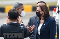 US Vice President arrives in Singapore
