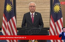 New Malaysian PM delivers inaugural speech