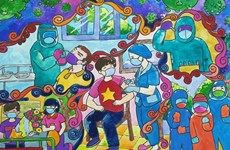 HCM City's 8th grader wins special prize of COVID-19 drawing contest