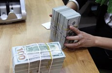 Reference exchange rate up 11 VND at week's beginning