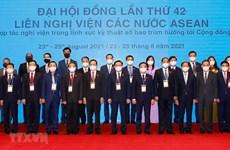 Lao NA President puts forth three proposals at AIPA-42