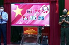 3D display system on General Vo Nguyen Giap presented to Quang Binh