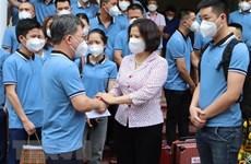 Bac Ninh sends more medical staff to pandemic-hit HCM City