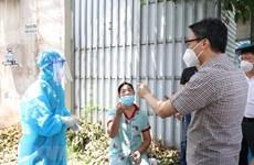 Deputy PM Vu Duc Dam inspects COVID-19 fight in Binh Duong