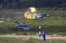 Vietnamese tank crew secures group's second place at Army Games 2021