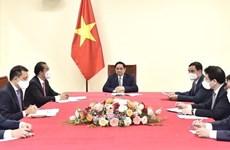 Vietnamese, Belgian PMs discuss measures to strengthen bilateral ties