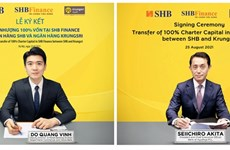 SHB to transfer 100 percent of capital in SHB Finance to Thailand's Krungsri