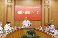 President chairs 13th meeting of Central Steering Committee for Judicial Reform