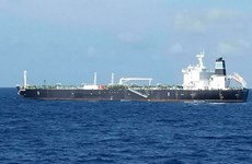 Indonesian navy seizes oil tanker wanted in Cambodia