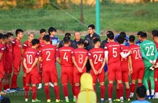 Head coach names 25-man squad for first match of World Cup qualifiers' final round