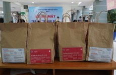 Medical bags support COVID-19 patients treated at home in HCM City