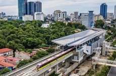 Automatic fare collection system for Hanoi urban railway delivered to Vietnam