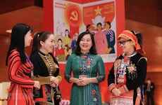 Hanoi promotes participation of women in all-level management positions