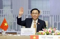 Vietnamese, Thai top legislators hold online talks
