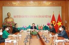 Vietnamese, Chinese Parties seek stronger cooperation in popularisation work
