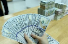 Reference exchange rate down at week's beginning