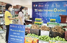 """""""Zero dong"""" stores support pandemic-hit people in Hanoi"""