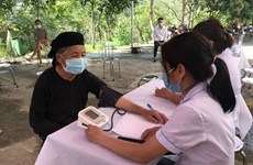 Ha Giang accelerates COVID-19 vaccination for people in border areas