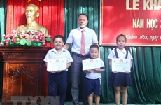 Elementary students in Truong Sa district begin new school year
