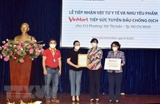 Masan Group donates 16-billion-VND COVID-19 aid for over 300 localities in HCM City