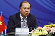 Vietnamese, Lao Foreign Ministries hold sixth political consultation