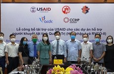 USAID launches projects to support disabled people in Quang Tri