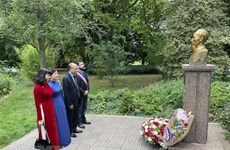 President Ho Chi Minh remembered in France, Singapore