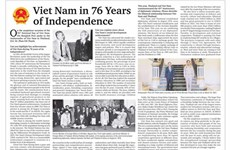 Vietnamese Ambassador's writing featured on Thai printed newspaper
