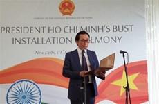 President Ho Chi Minh bust erected in New Delhi