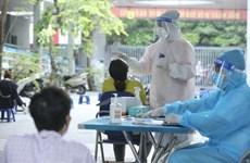 Hanoi completes 81.78 percent of mass testing plan
