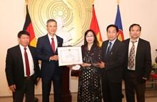 Outstanding overseas Vietnamese in Germany honoured