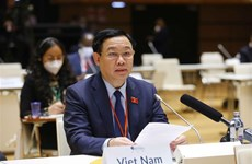 NA Chairman delivers remarks on COVID-19, climate change at 5WCSP