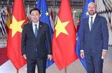 Vietnamese NA Chairman meets with European Council President