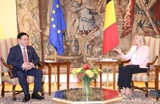 NA Chairman holds talks with leader of Belgium's Chamber of Representatives