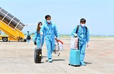 "Van Don airport welcomes passengers from US with ""vaccine passport"""