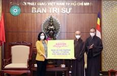 Ho Chi Minh City Buddhist Sangha donates 10 ambulances to COVID-19 fight