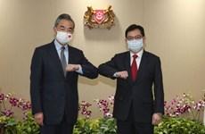 China, Singapore enhance cooperation in pandemic fight, digital economy