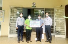 Donations give more impulse to COVID-19 fight in HCM City