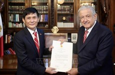 Mexican President values relations with Vietnam