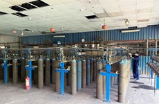 Steel company supplies oxygen to treat COVID-19 patients