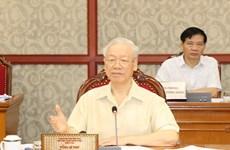 Politburo gives opinions on socio-economic performance