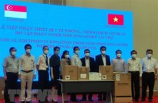 Singaporean firm assists Binh Duong in medical equipment