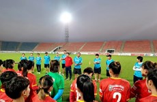 Women's team ready for Asian Cup qualifiers