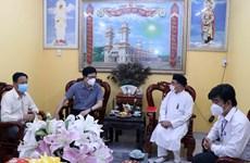 Gov't officials congratulate Cao Dai followers on biggest festival